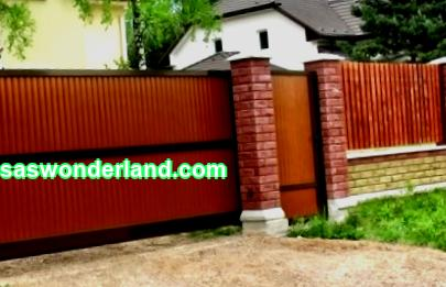 What you need to know for making do-it-yourself sliding gates