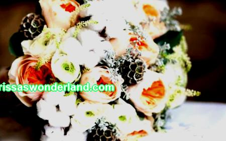 Creativity without borders - do-it-yourself bridal bouquet of artificial flowers