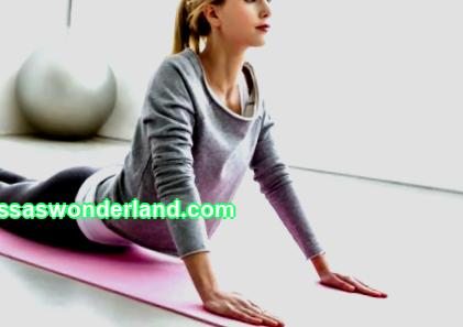 A set of yoga exercises for weight loss at home