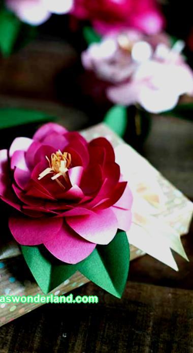 Paper flowers are a great addition to the interior. It is very easy to create compositions from paper, so even children can do it. How to make paper flowers will help the master classes presented in the article.