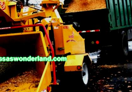 Wood shredders and mulchers