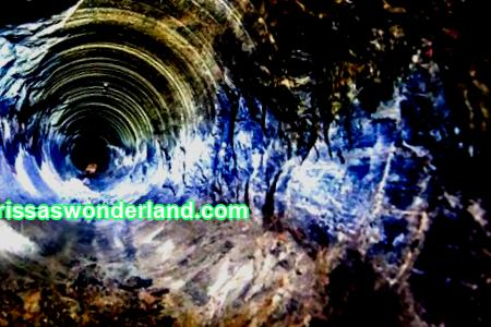 Sounds underground at a depth of 12 kilometers, which came from; well to hell