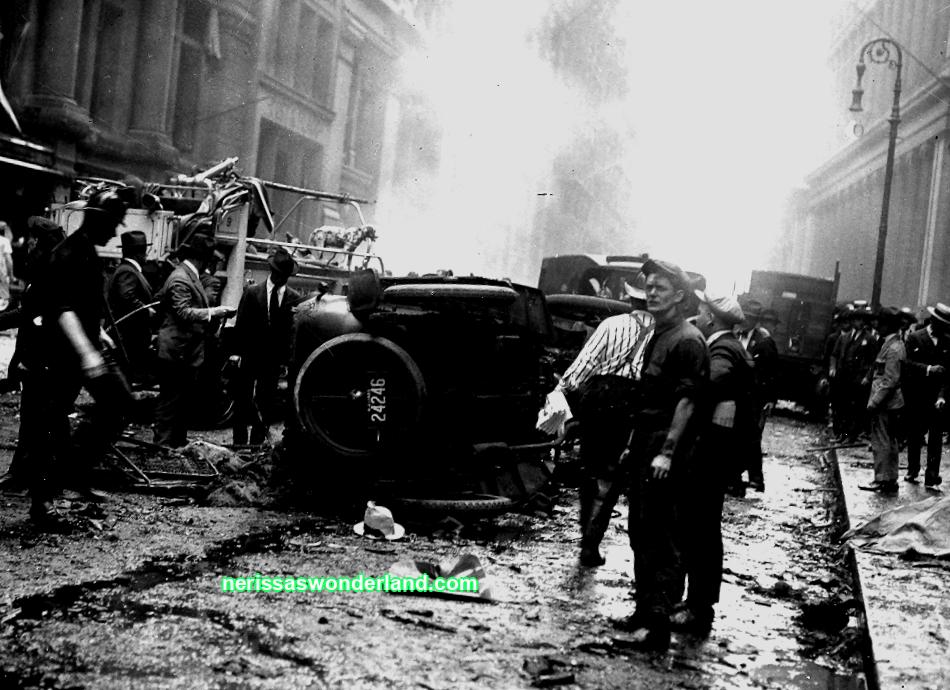 How anarchists blew up Wall Street in 1920