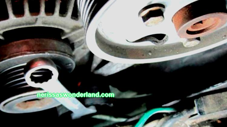 Do-it-yourself replacement, repair of the belt and generator Kia Ceed