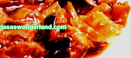 How to cook stewed eggplant with vegetables