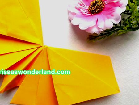 How to make origami out of paper