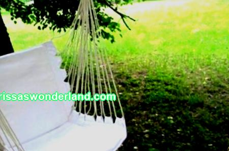 How to make a hanging chair: 4 options for making hanging furniture