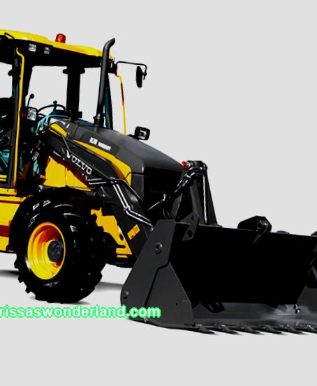 Rent of a backhoe loader in St. Petersburg and the region