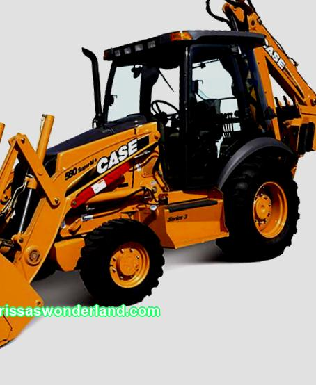 Inexpensive rent of a backhoe loader in St. Petersburg and the Leningrad region.