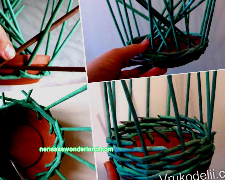 How to create a flower pot from newspaper tubes with your own hands? What materials, besides the newspaper, will you need? Step-by-step instructions for weaving a model without a bottom for flowers. Making a flowerpot in the form of a bicycle.