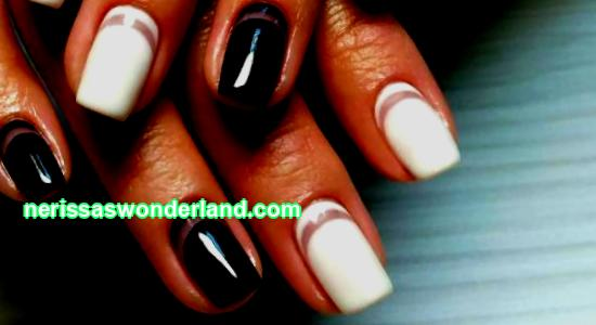 Moon manicure on short nails: 155 fashion photo trends