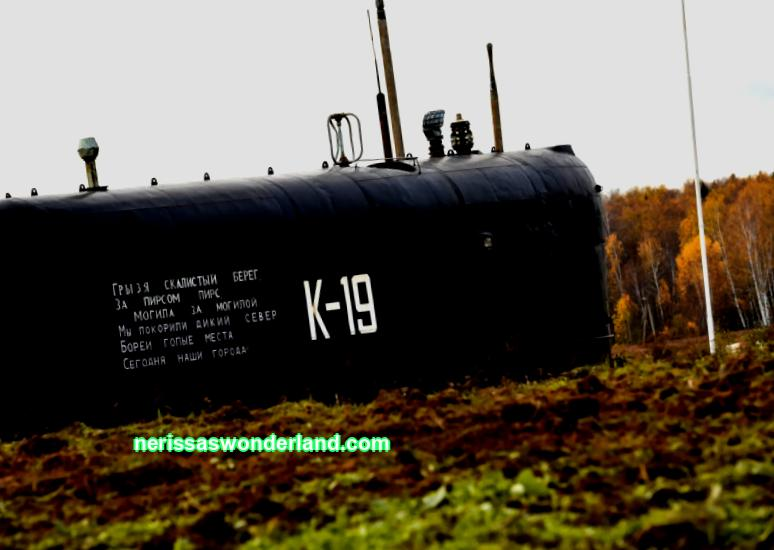 Monument to the submarine K-19