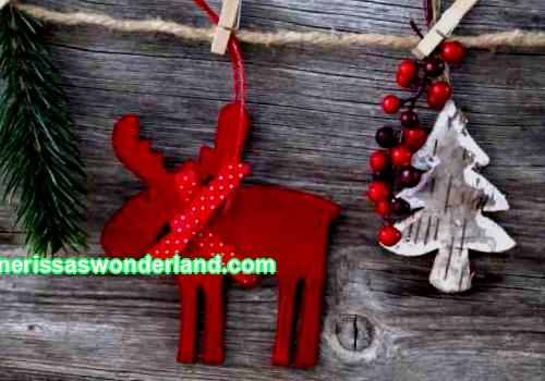 DIY Christmas deer
