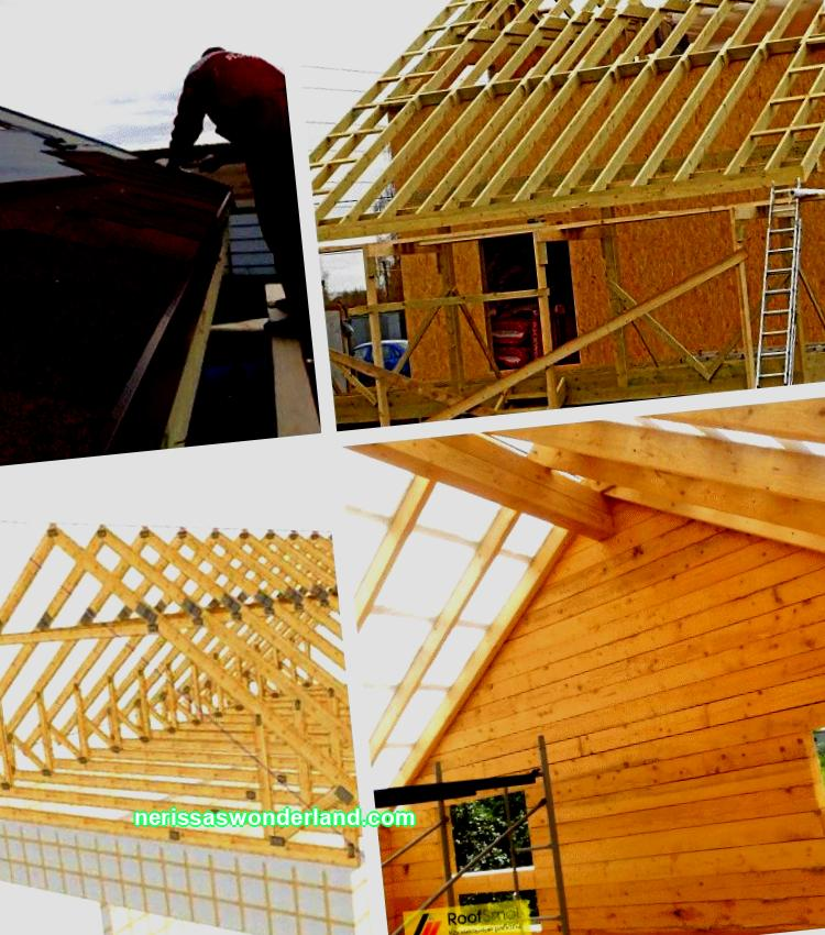 Roof gable sheathing