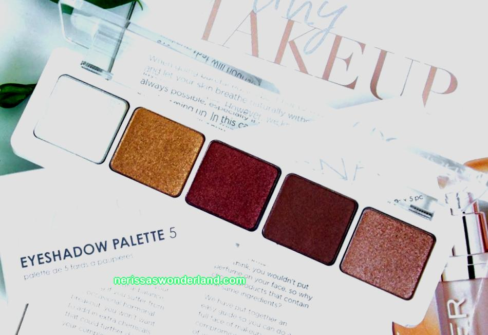 Eyeshadow palette Natasha Denona Eyeshadow Palette 5 in shade 04 - a review about each shade, swatch eyeshadow, price and where to buy in Russia and Ukraine