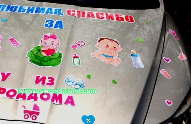 Popular stickers about the birth of a son and daughter - TOP-8 options
