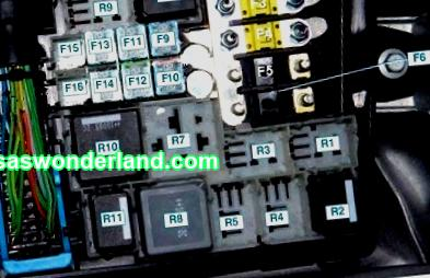 Fuses Ford Focus 2