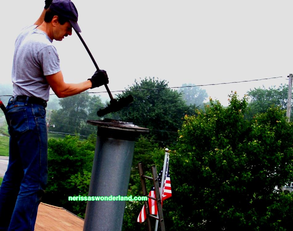 Secrets of cleaning a chimney in a private house