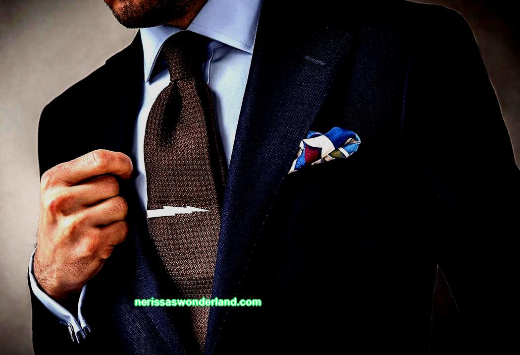 Stylish accessory for men; tie clip