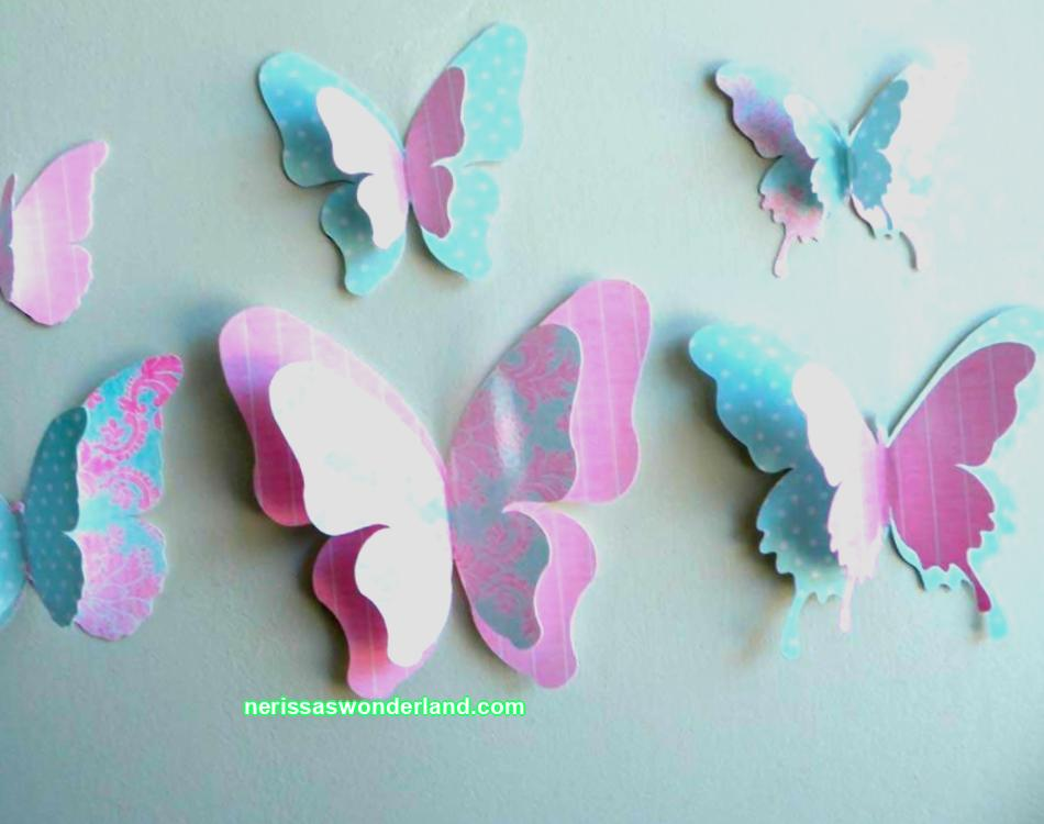 How to make paper butterflies with your own hands? Ideas for applique and crafts of colored paper butterflies. Step-by-step production and cutting using a stencil or template from cardboard.