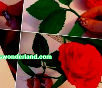 Do-it-yourself paper wedding decoration workshop. How to make paper flowers and other corrugated paper accessories for hall decoration.