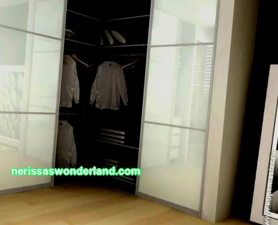 Built-in furniture: dressing rooms wardrobe