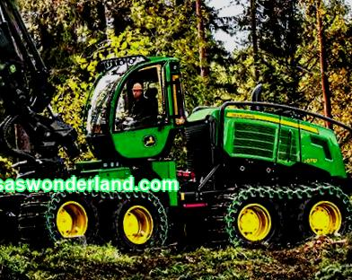 Harvester and Forwarder
