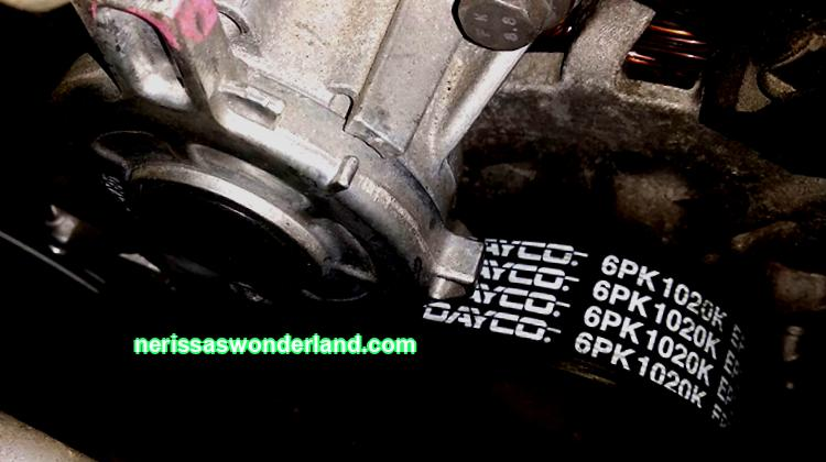 DIY Citroen C4 belt and alternator replacement