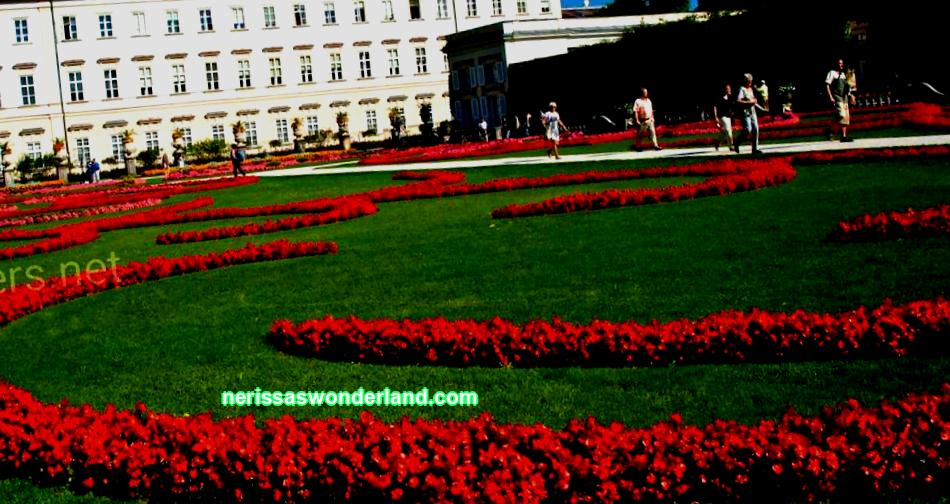 Attractions and features of the Mirabell Garden in Salzburg