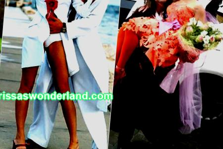 Celebrity brides who excelled in ridiculous wedding dresses